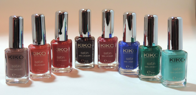 12 Gifts of Christmas: Kiko Satin Nail Lacquer Set - Beauty Geek UK
