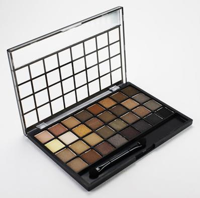 ELF 32pc Festive Eyeshadow Palette Warm 6