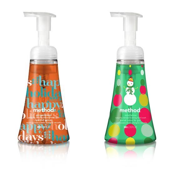 Method Christmas Hand Washes