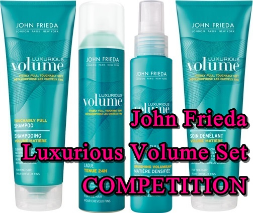 Competition: John Frieda Luxurious Volume Set