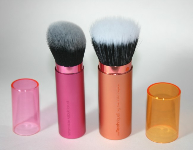 Real Techniques Retractable Kabuki Brush and Bronzer Brush