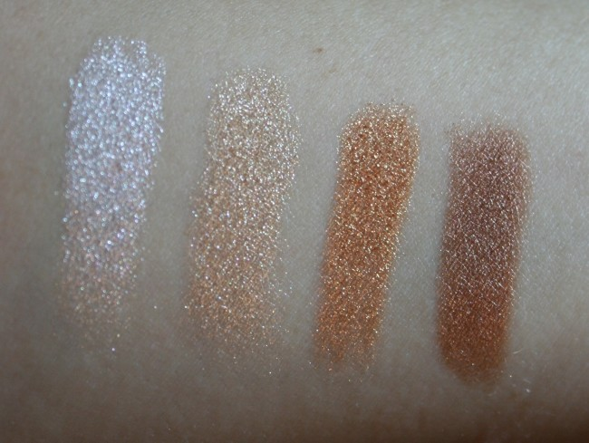 Sisley Phyto-Ombre Glow Swatches