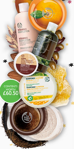 The Body Shop Online Exclusive Essentials Kit and Discount Code