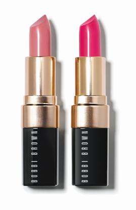 Bobbi Brown Pink Kiss and Neon Pink.