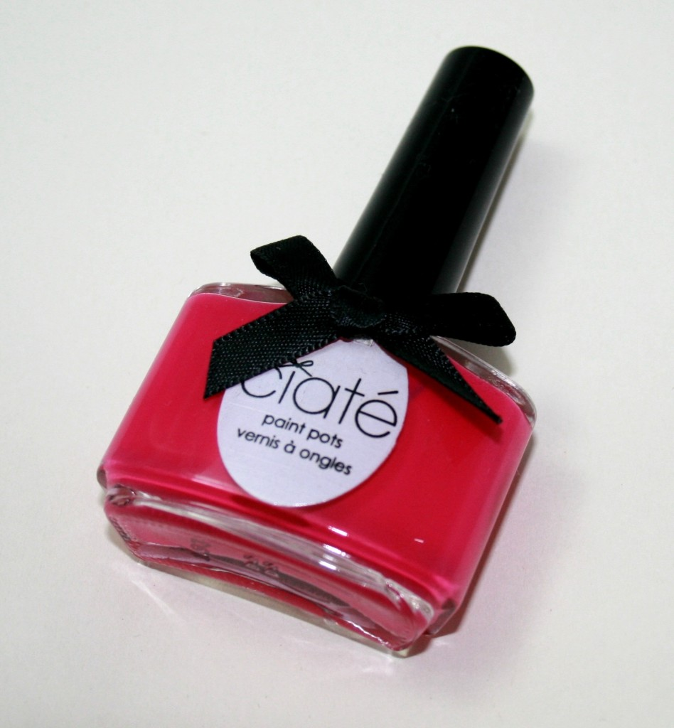 NOTD: Ciate Paint Pot in Raspberry Collins