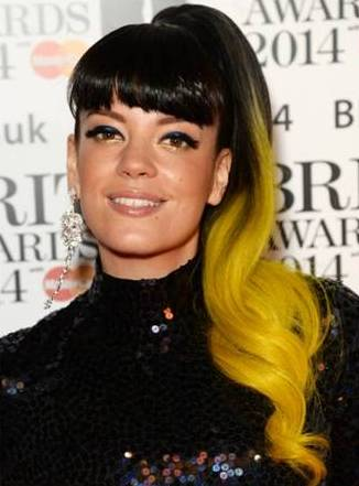 Lilly Allen Yellow Hair