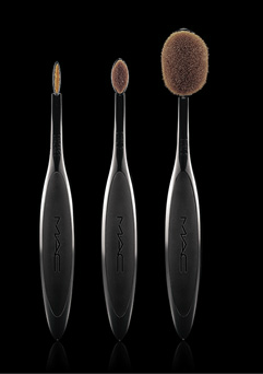 L-R: Linear, Oval 3 and Oval 6.