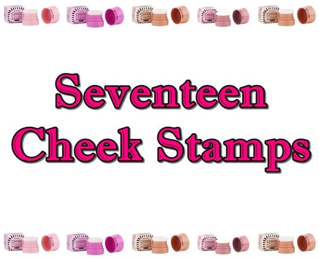 Seventeen Cheek Stamps