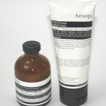 Aesop Exfoliators: Tea Tree Leaf Facial Exfoliant and Purifying Facial Exfoliant Paste