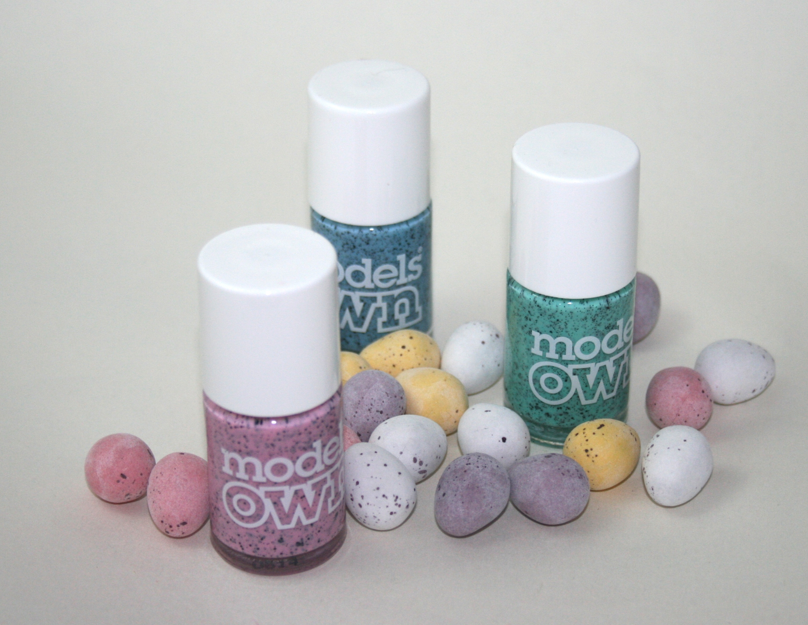 Models Own Speckled Eggs Collection in Magpie, Dove and Duck