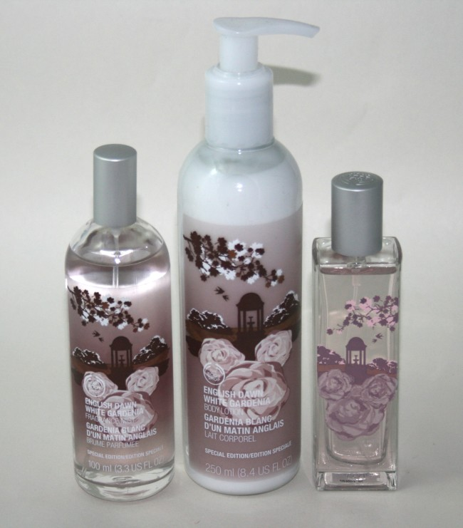 The Body Shop English Dawn White Gardenia