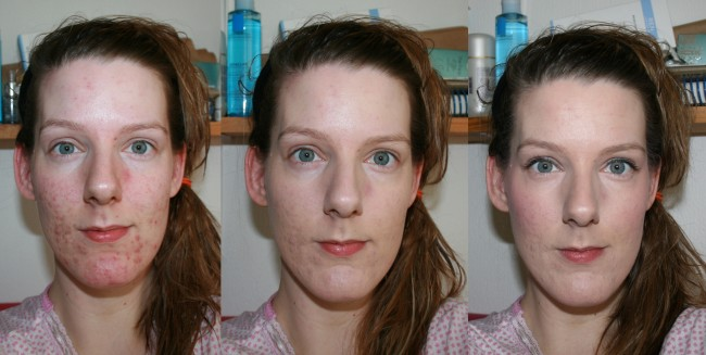 Benefit Big Easy before and after