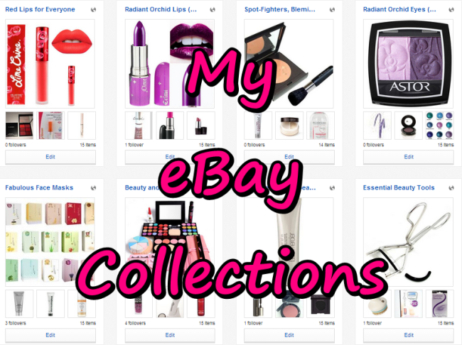 Ebay Collections main header