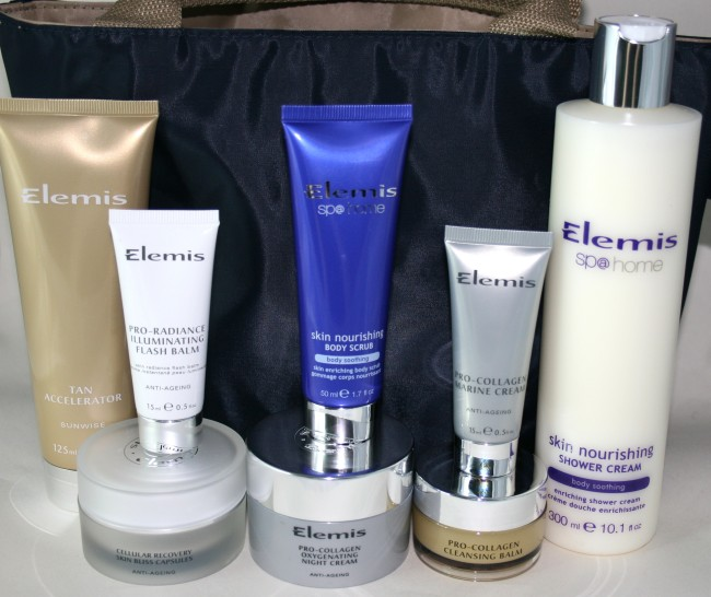 Elemis QVC Gorgeous Skin full contents