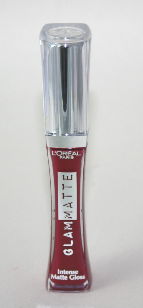 L'Oreal Glam Matte Intense Lipgloss in Zip It Red
