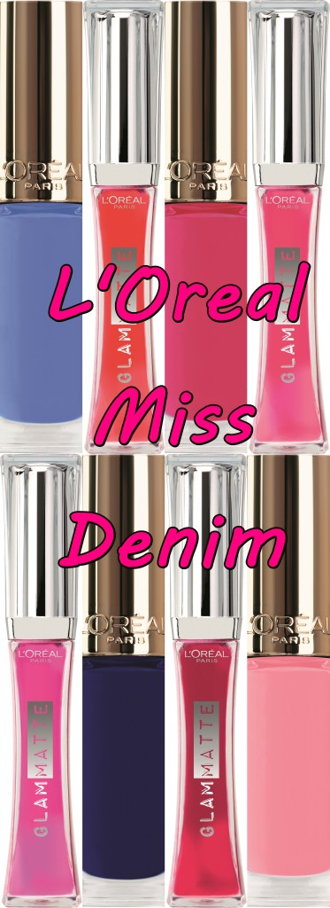 L'Oreal Miss Denim Collection