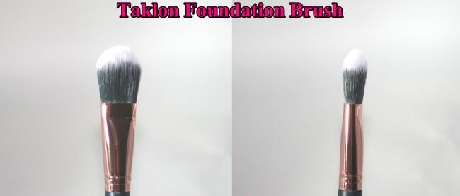 MOXI Taklon Foundation Brush