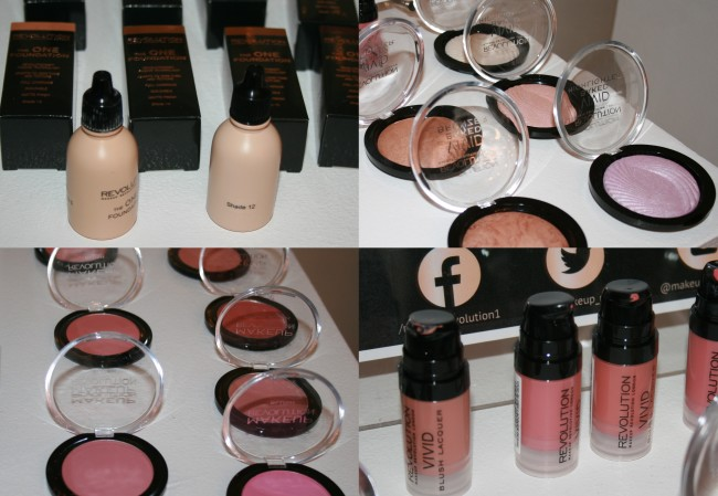 Makeup Revolution base products