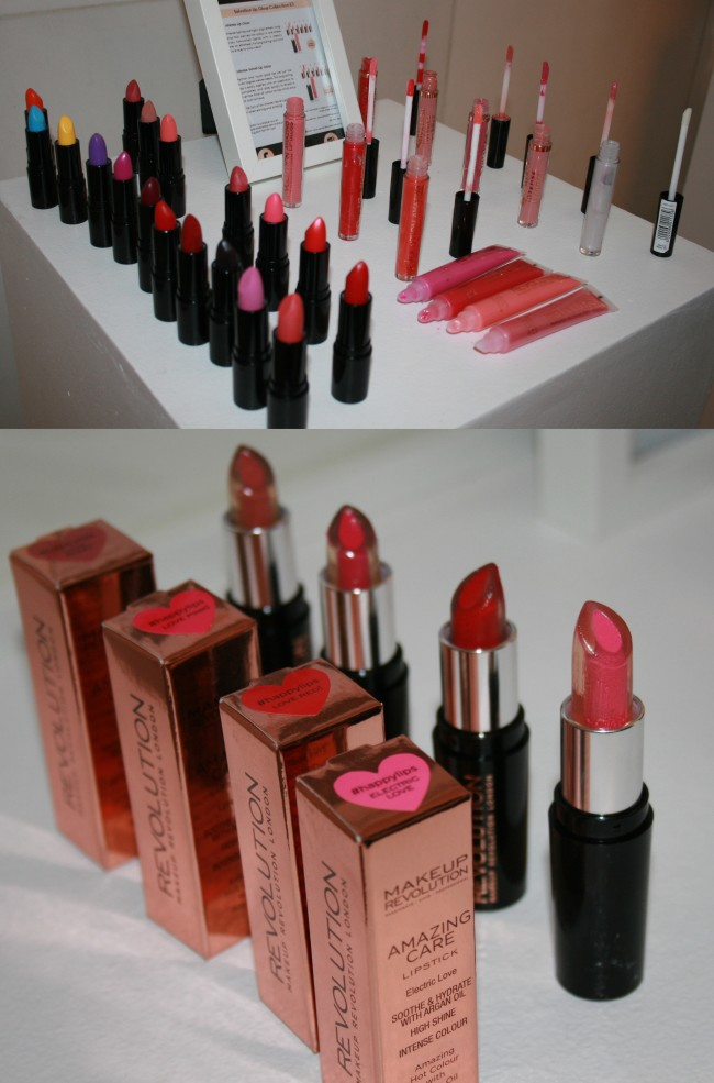 Makeup Revolution lip products