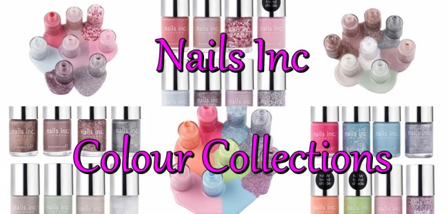 Nails Inc Colour Collections April 2014