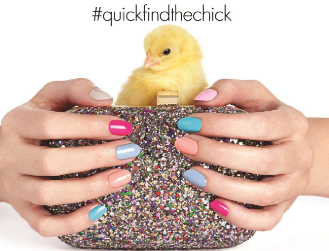 Nails Inc #QuickFindTheChick Easter Promo
