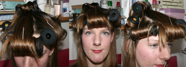 Nicky Clarke Desired Heated Rollers on the hair