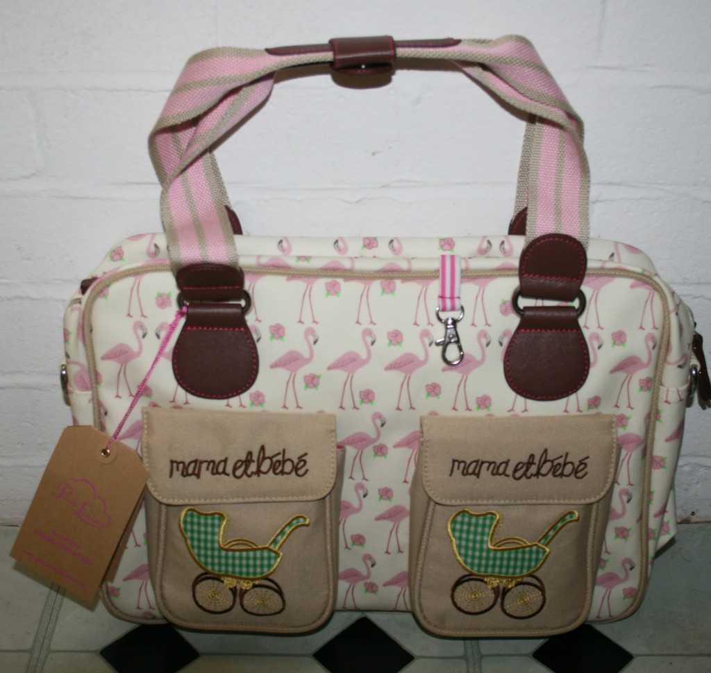 Teddy: Pink Lining Mama et Bebe Changing Bag