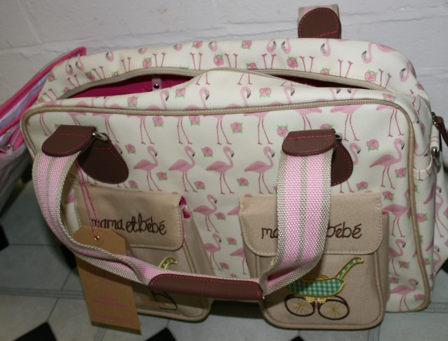 Pink Lining Mummy and Baby Changing Bag