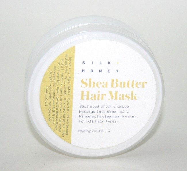 Birchbox June 2014 Silk and Honey Hair Mask