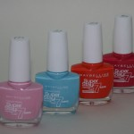 Maybelline Superstay Nail Colour: New Shades