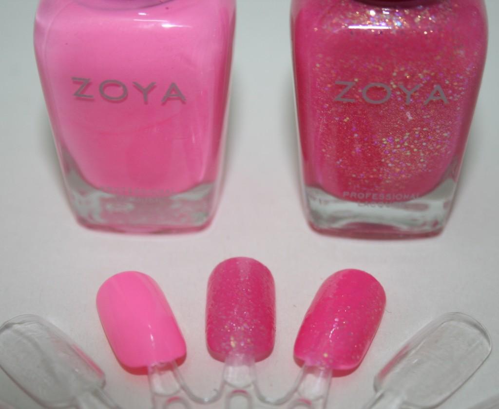 Zoya SS14 Shades: Kirtridge and Harper