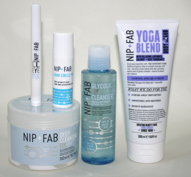 Nip+Fab Hero Products