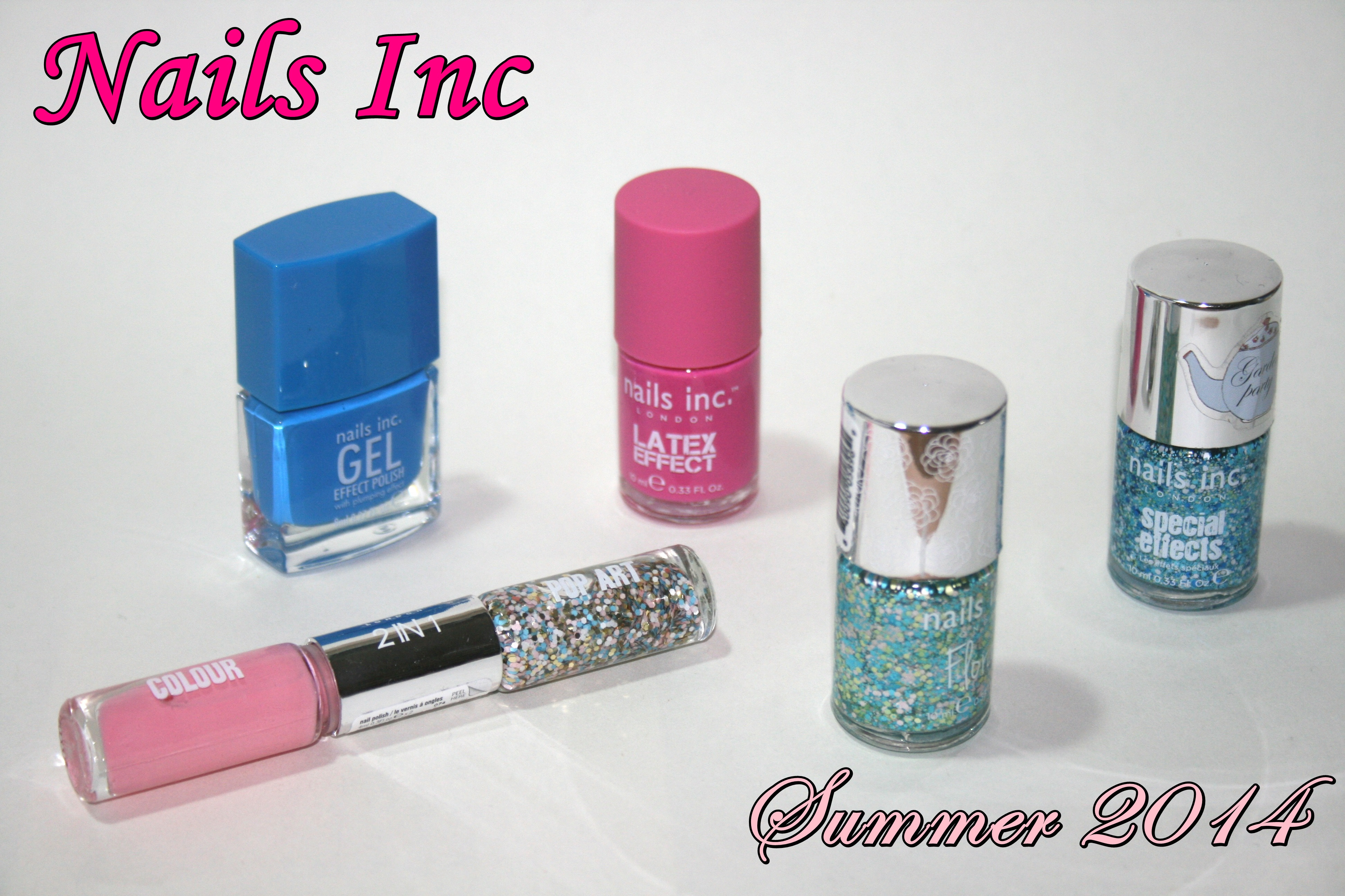 Nails Inc Summer Must-Haves 2014