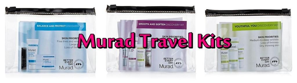 Murad Travel-Sized Skincare Sets