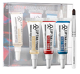 OCC Lip Tar Test Tubes x 3 Blue Blood