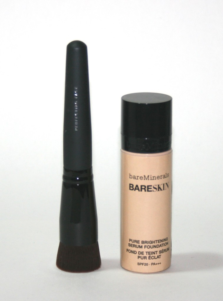 BareMinerals BareSkin Foundation and Perfecting Face Brush