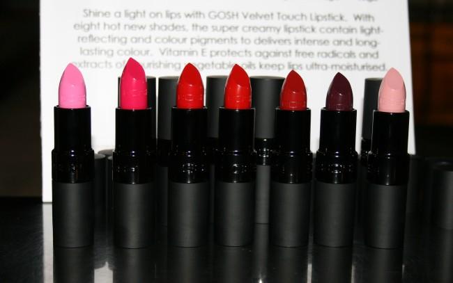 GOSH Velvet Touch Lipstick