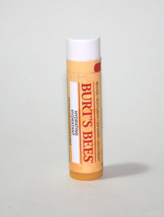 Quick Pick Tuesday: Burt's Bees Hydrating Lip Balm with Coconut and Pear