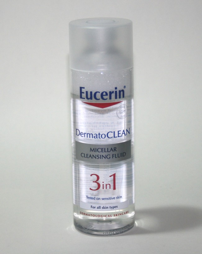 Quick Pick Tuesday: Eucerin Dermatoclean Micellar Cleansing Fluid
