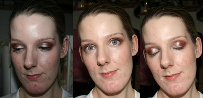Nars Dual Intensity Eye Shadows Look 1