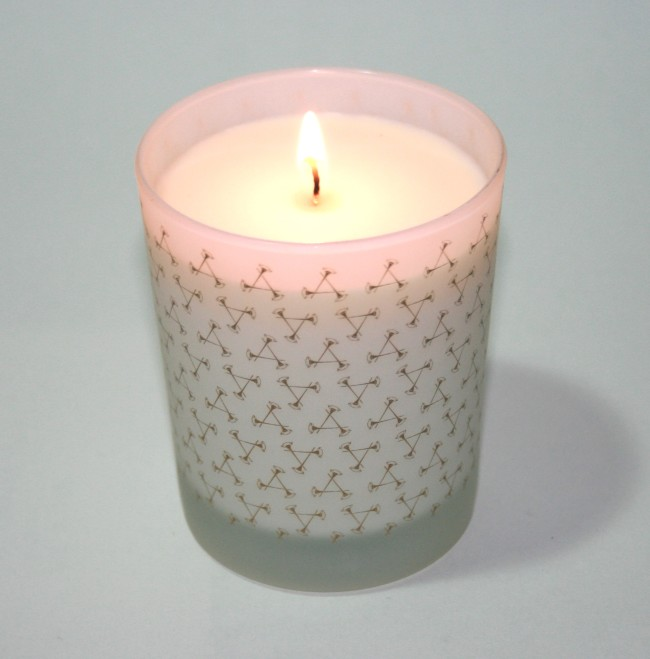 Aromatherapy Associates Indulgence Candle Burning