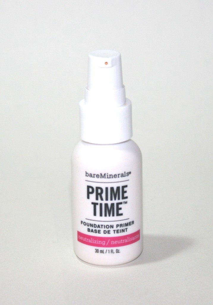 bareminerals prime time neutralizing foundation primer. Black Bedroom Furniture Sets. Home Design Ideas