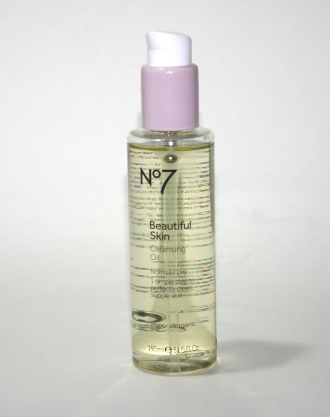 Quick Pick Tuesday: Boots No7 Beautiful Skin Cleansing Oil