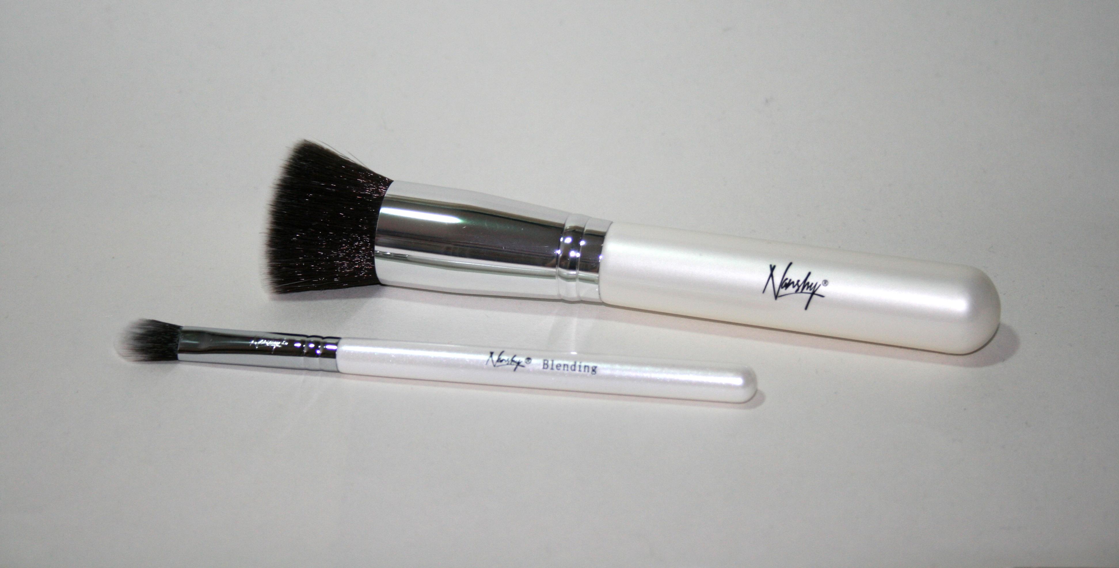 Nanshy Flat Top Brush and Blending Eye Shadow Brush