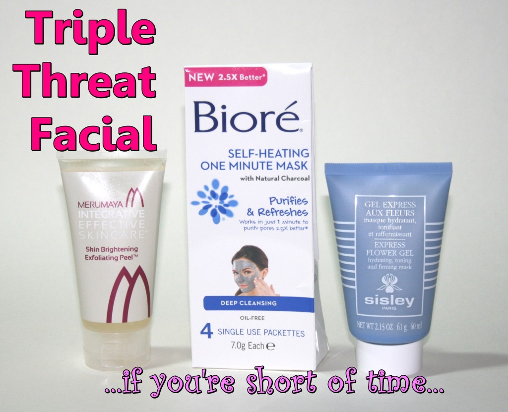 Triple Threat Facial: Timesaver's Edit
