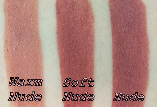 Bobbi Brown Smokey Nudes Creamy Matte Lip Color Swatches