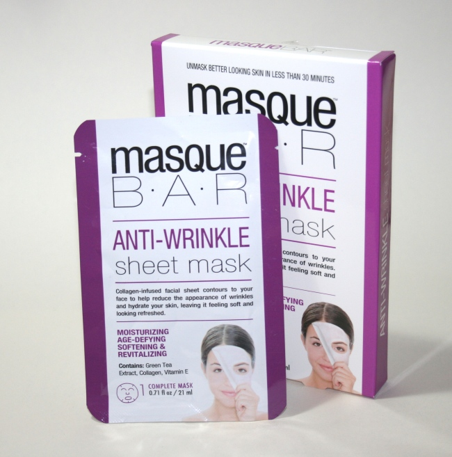 MasqueBar Anit-Wrinkle Sheet Mask