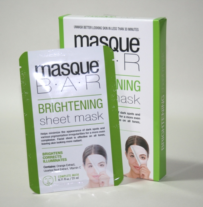 MasqueBar Brightening Sheet Mask