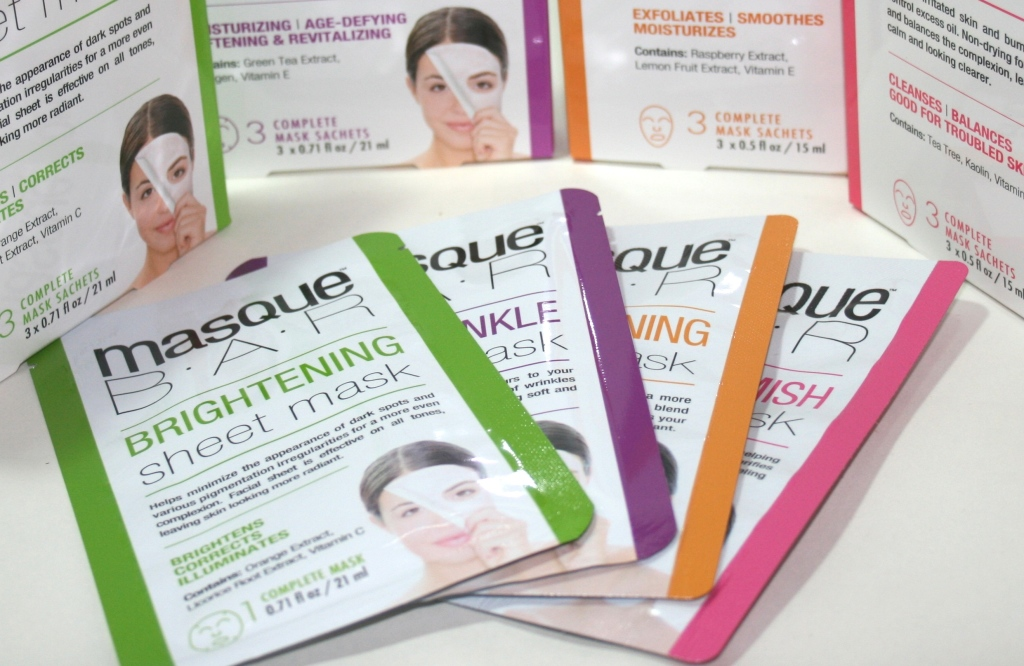 MasqueBar Sheet and Creme Masks