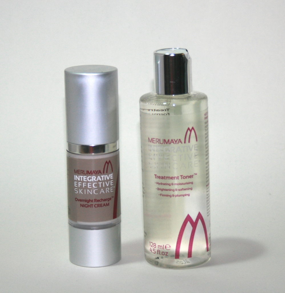 New from Merumaya: Treatment Toner and Overnight Recharge Night Cream